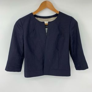 J.crew Baird Mcnutt Cropped Linen Blazer  Jacket
